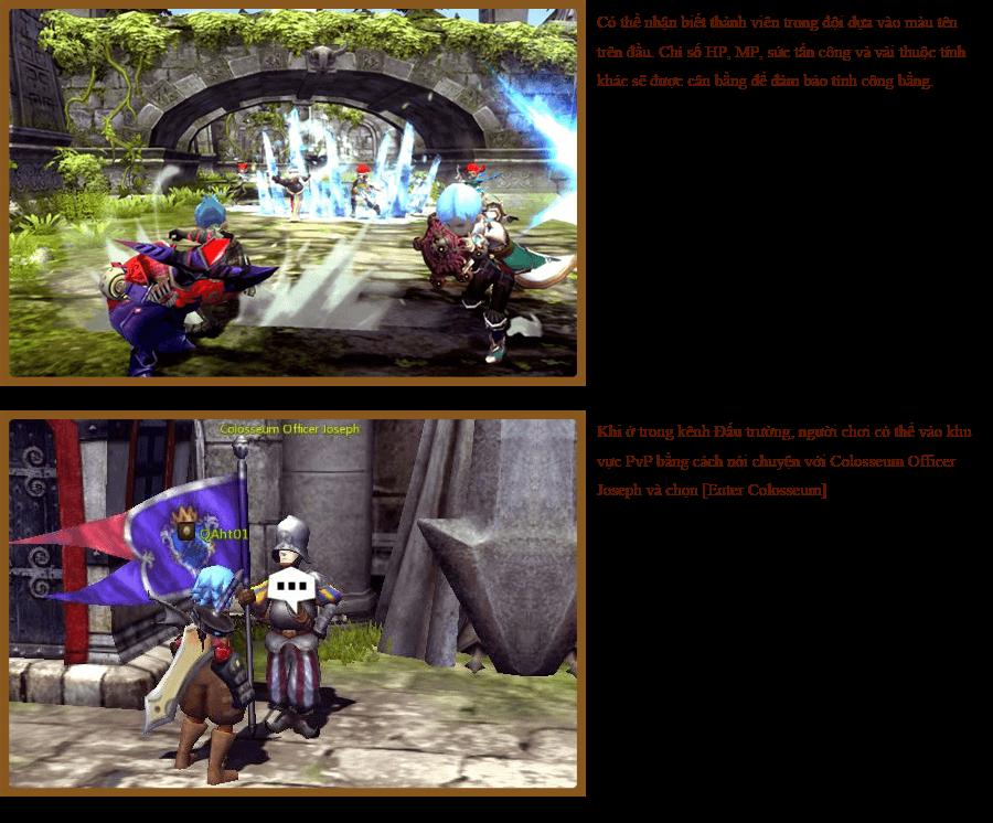 Các hoạt động PvP trong Dragon Nest 0