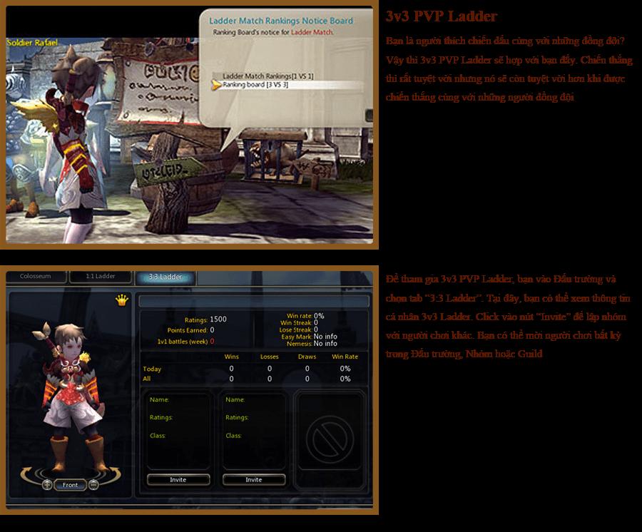 Các hoạt động PvP trong Dragon Nest 10
