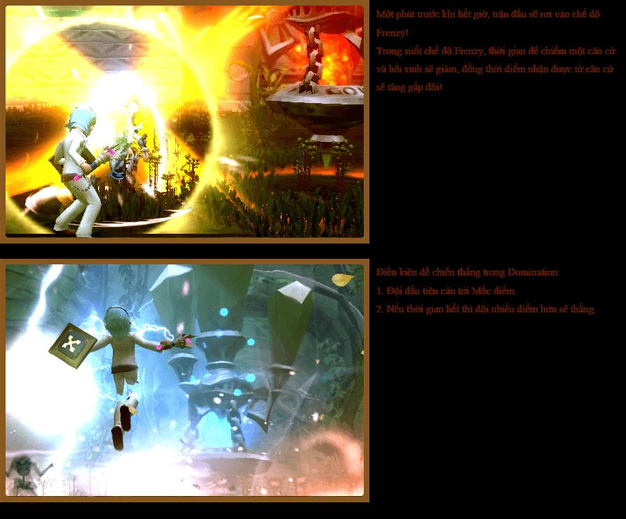 Các hoạt động PvP trong Dragon Nest 3