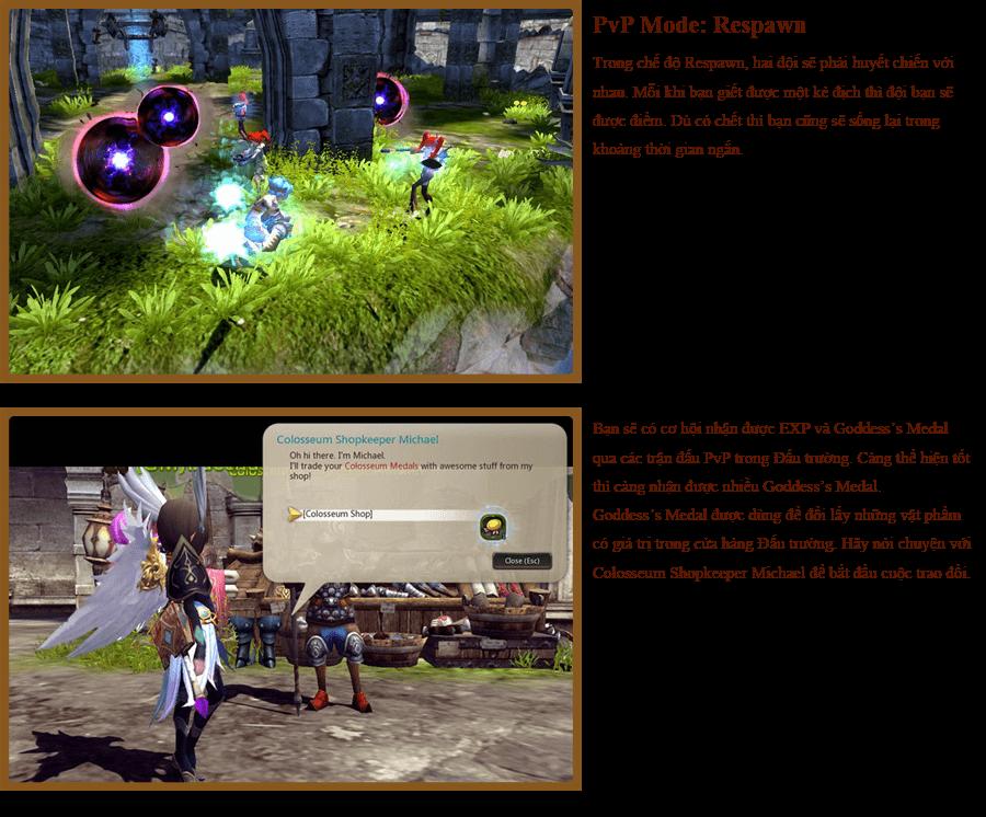 Các hoạt động PvP trong Dragon Nest 5