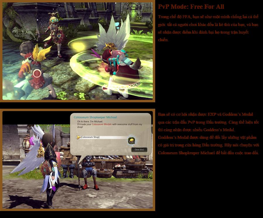 Các hoạt động PvP trong Dragon Nest 8