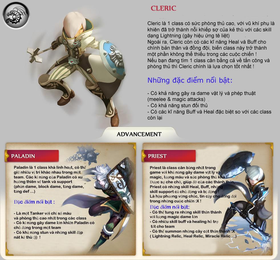 Tìm hiểu hệ thống nhân vật trong Dragon Nest 3
