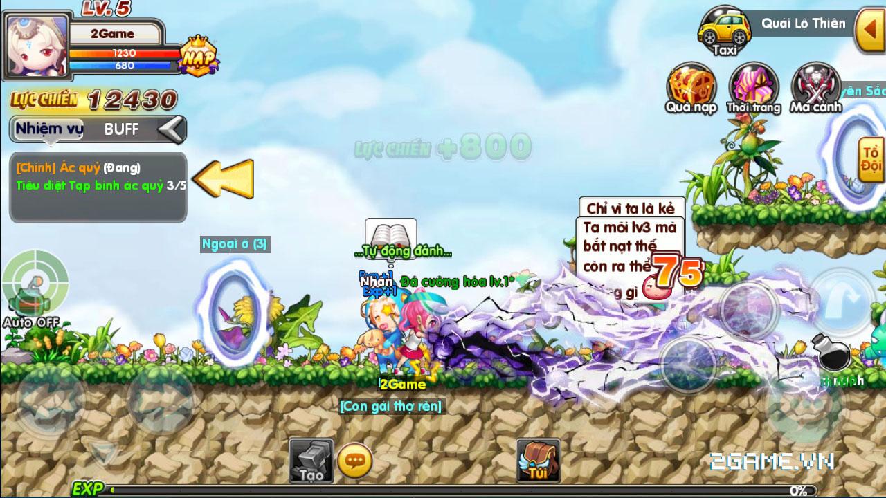 Luyện Rồng mobile tái hiện ký ức về MapleStory rất tốt 1