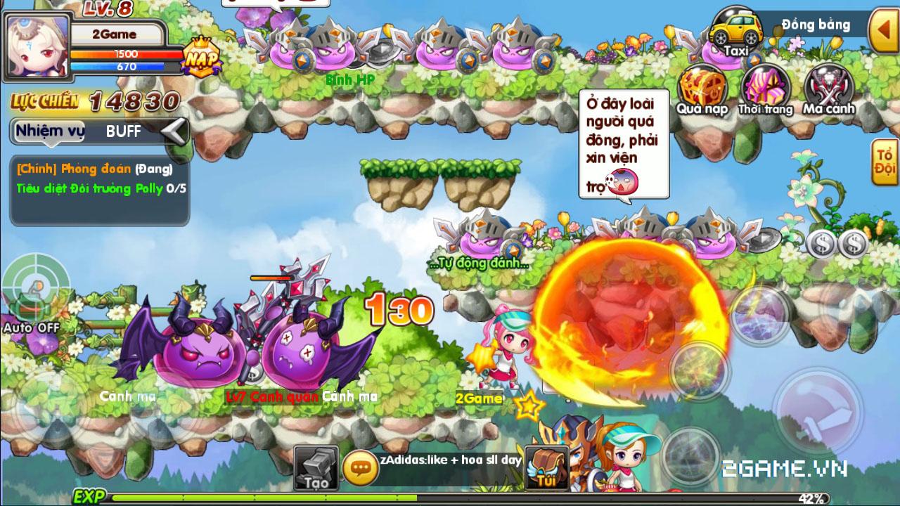 Luyện Rồng mobile tái hiện ký ức về MapleStory rất tốt 3