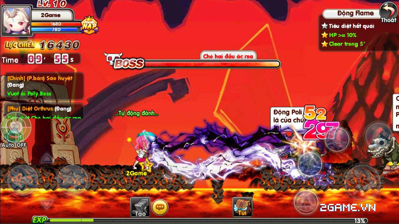 Luyện Rồng mobile tái hiện ký ức về MapleStory rất tốt 4