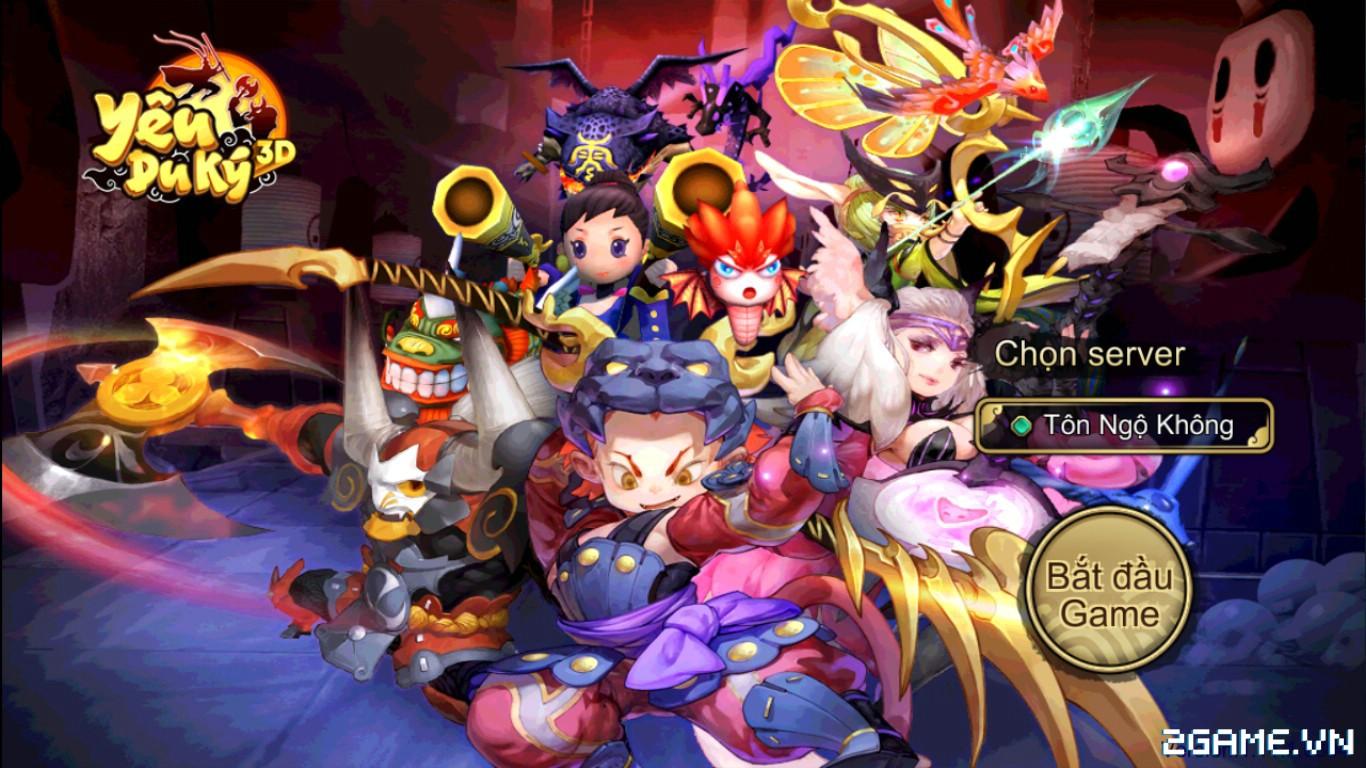 Tặng 220 giftcode game Yêu Du Ký 3D 0