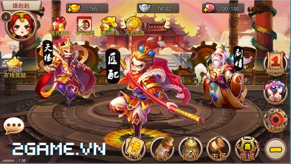 Tề Thiên Mobile: Game thể loại TCG cập bến Việt Nam 0