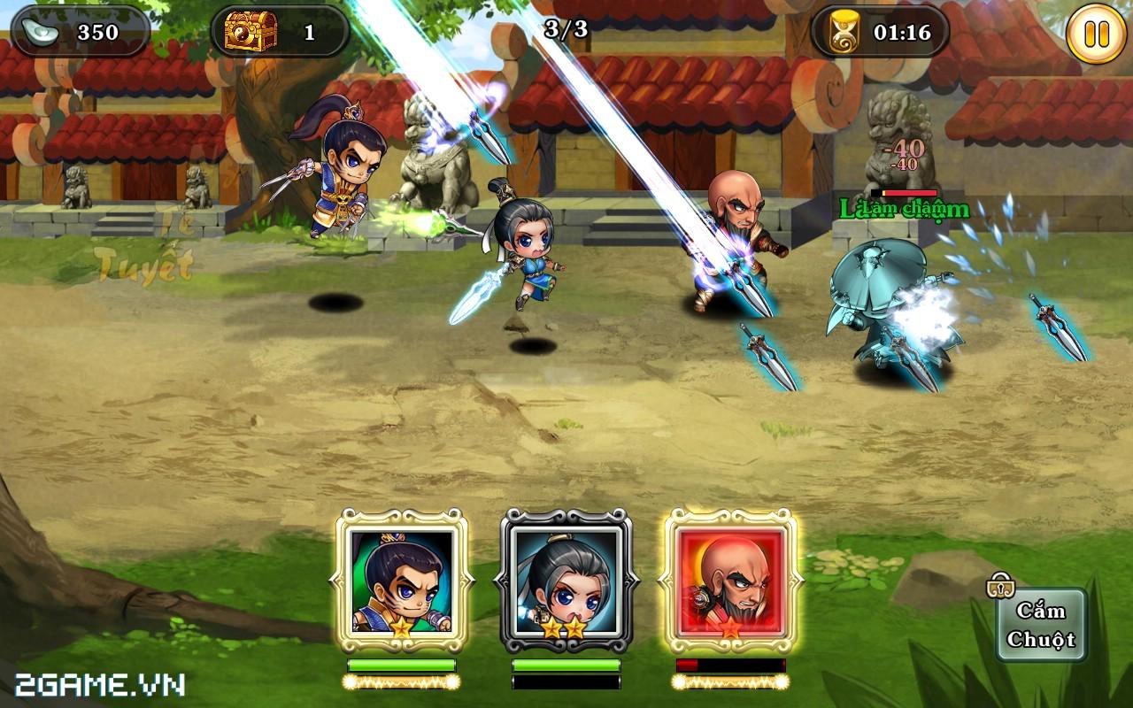 Tân Võ Lâm của VNG hé lộ hình ảnh in-game chuẩn HD 0