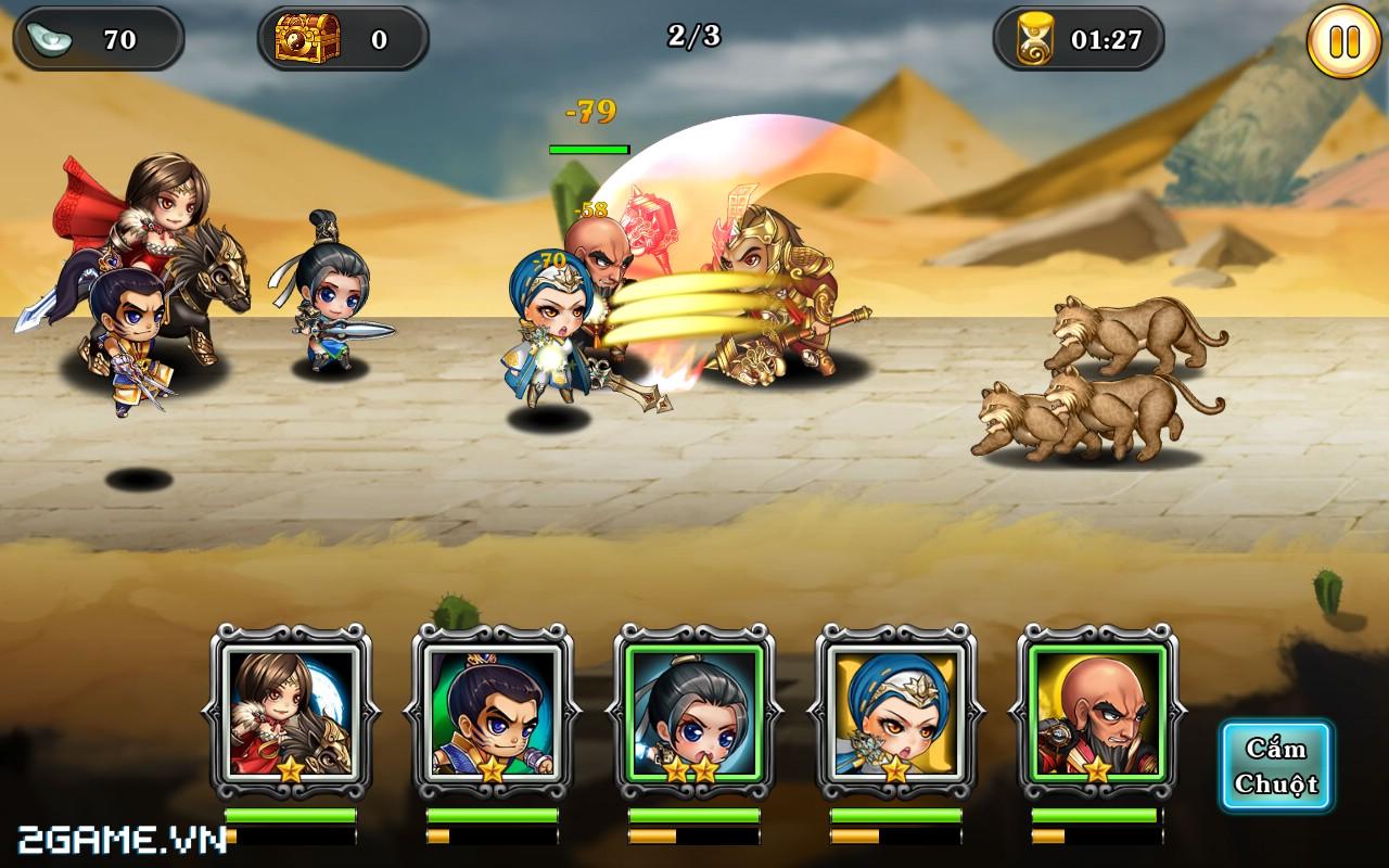 Tân Võ Lâm của VNG hé lộ hình ảnh in-game chuẩn HD 3