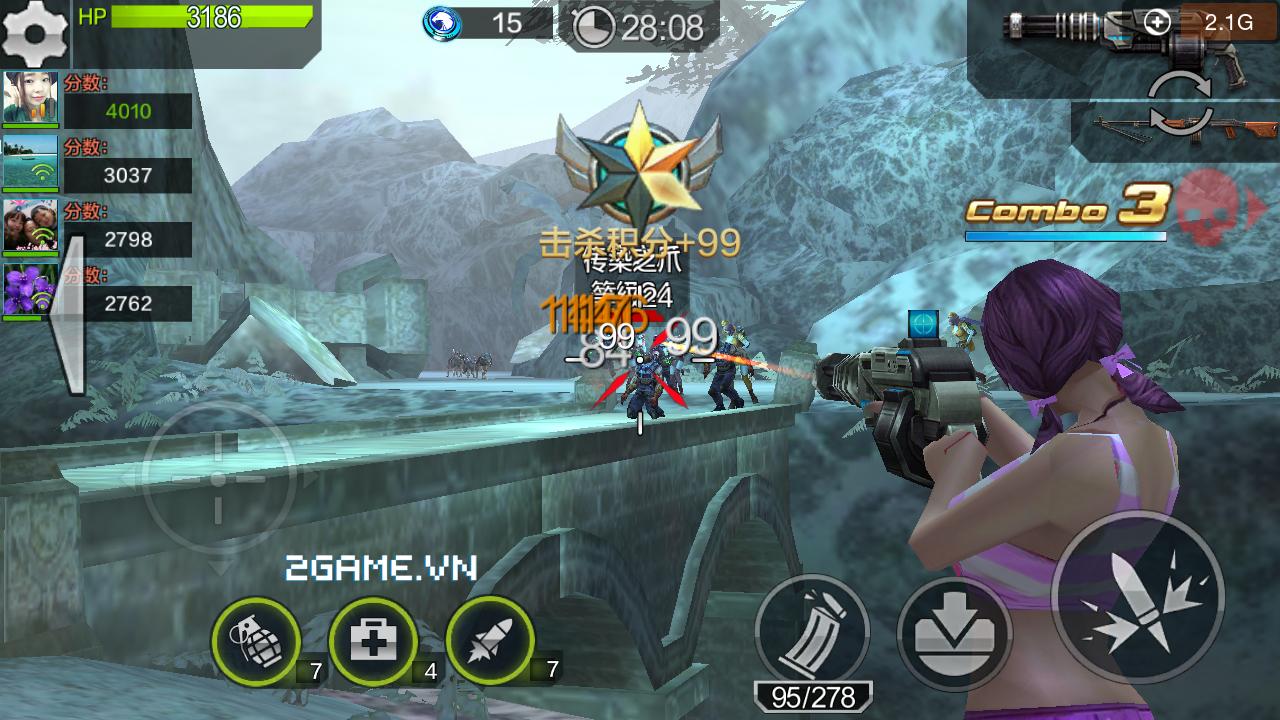 Chiến Dịch Huyền Thoại là game mobile online bắn súng 1