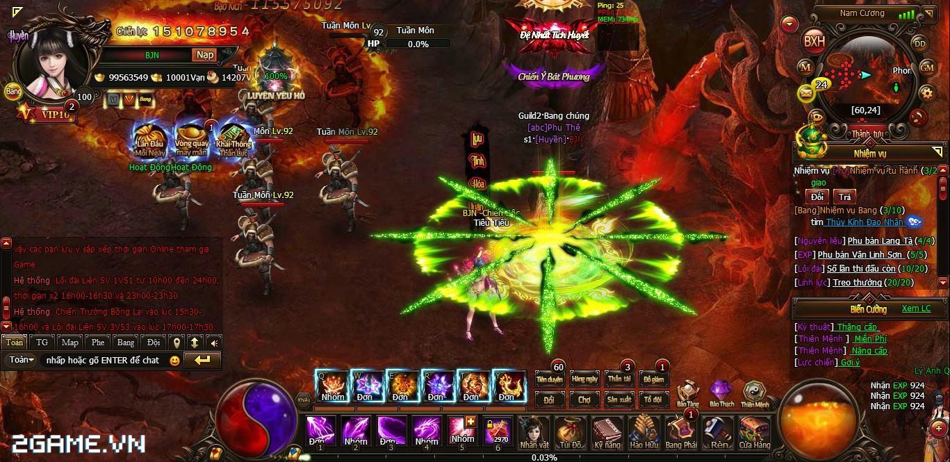 Cửu Kiếm HD khuyến khích game thủ hãy cứ 'choảng nhau' 4