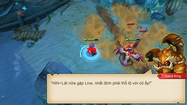 Chiến Thần DotA đưa phong cách haivl vào lời thoại của nhân vật 3