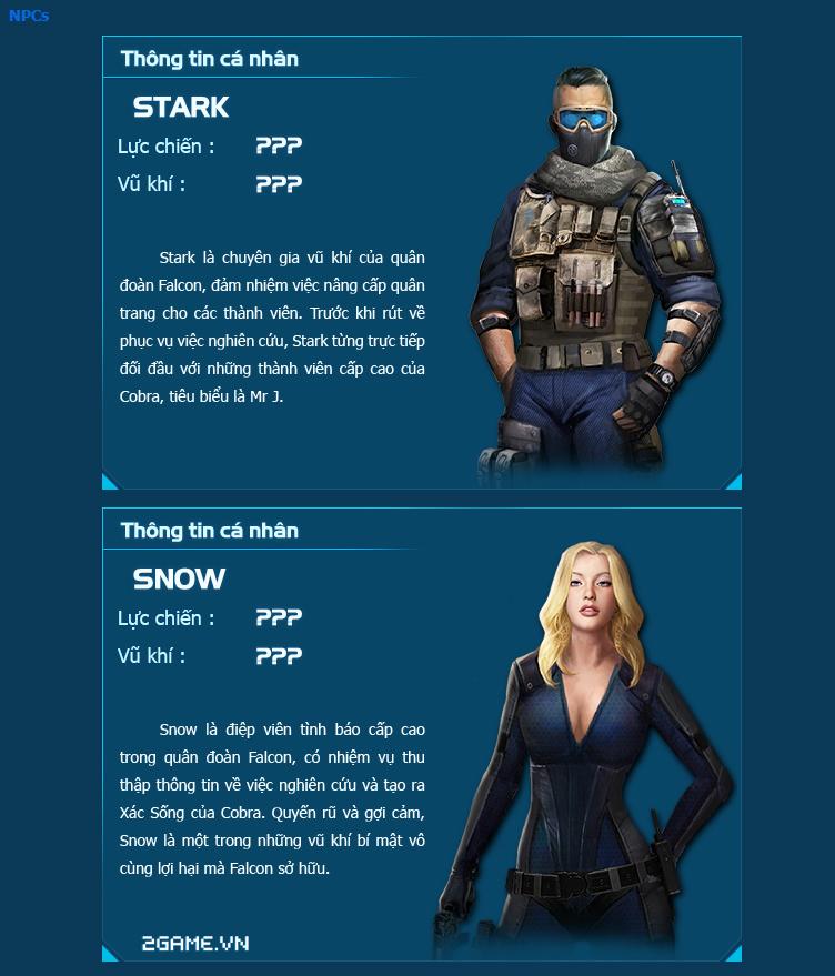 Chiến Dịch Huyền Thoại giới thiệu các nhân vật 1