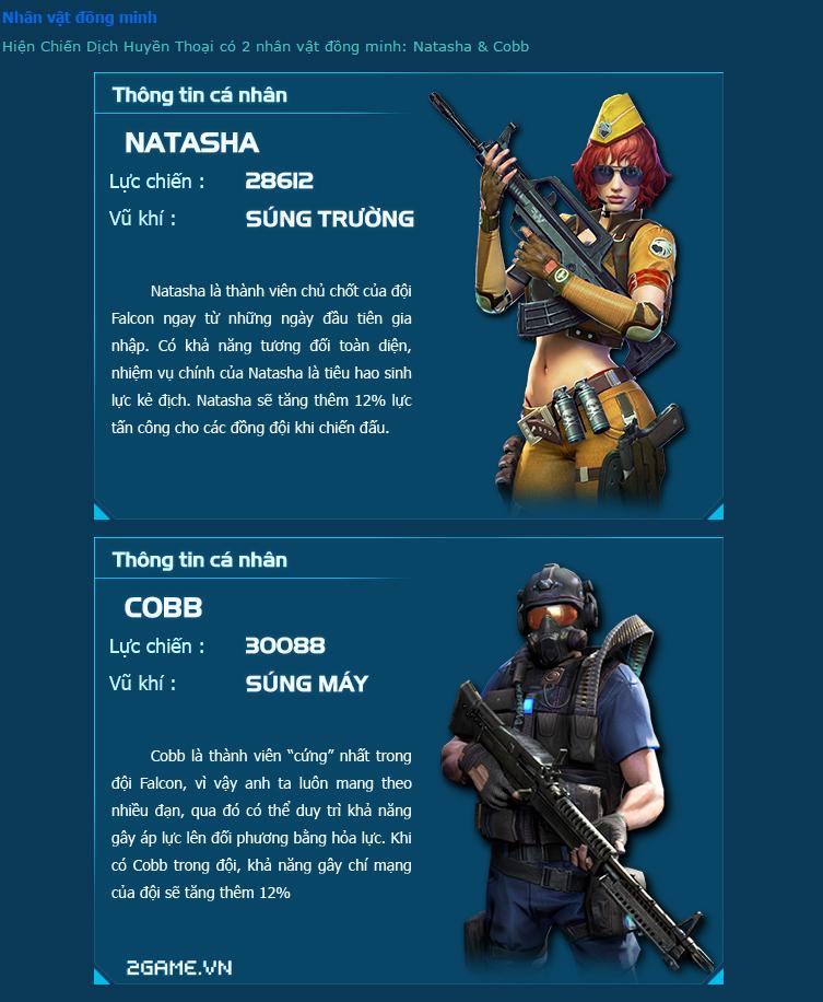 Chiến Dịch Huyền Thoại giới thiệu các nhân vật 3