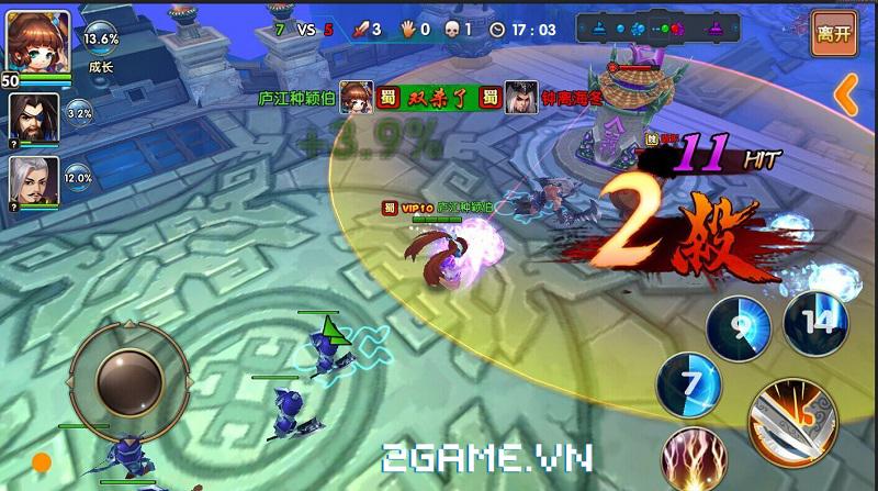 Loạn Thế Tam Quốc tự tin vào sự cân bằng trong kiểu chơi MOBA 2