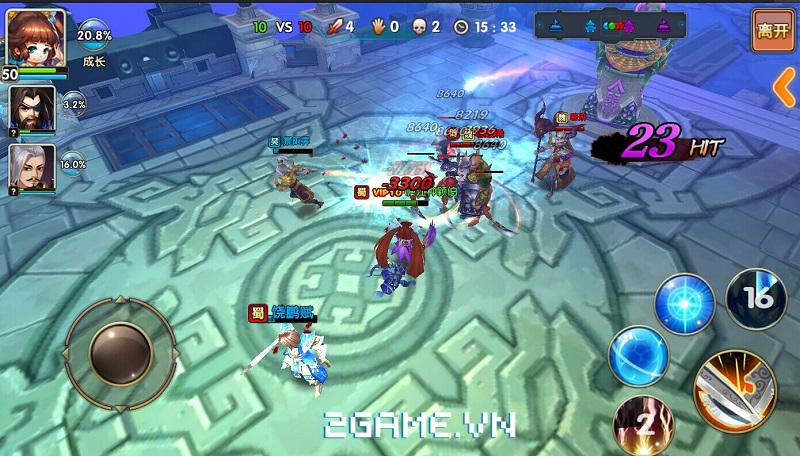 Loạn Thế Tam Quốc tự tin vào sự cân bằng trong kiểu chơi MOBA 3