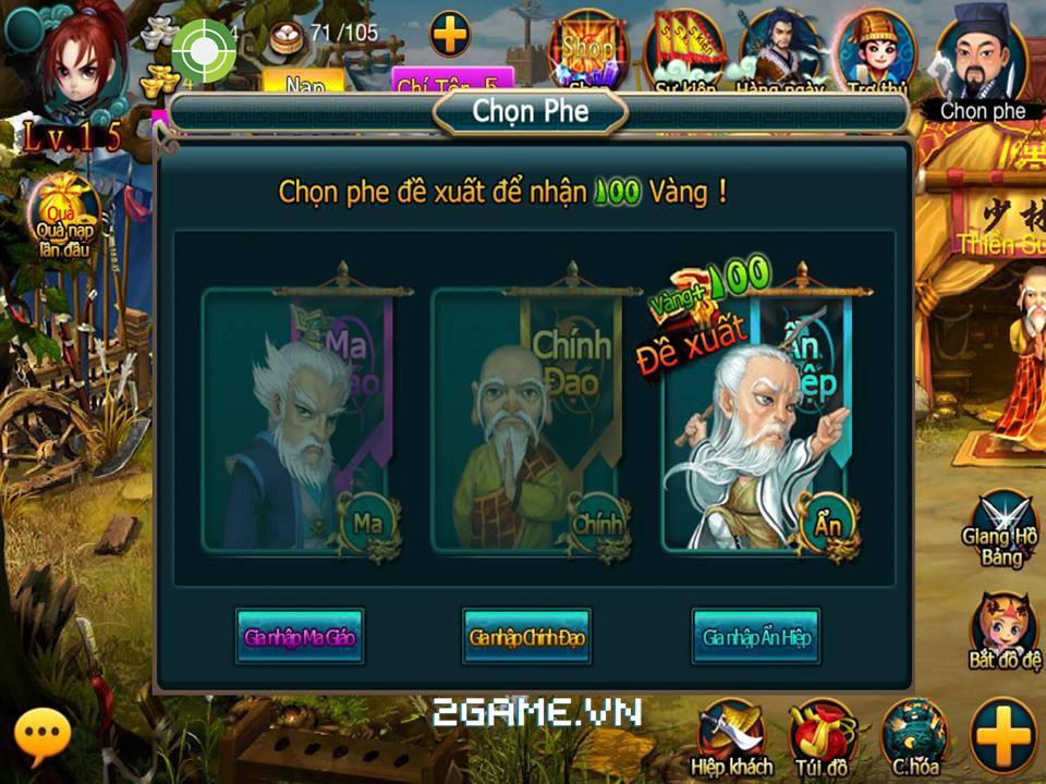Ngạo Giang Hồ cập bến làng game Việt 8