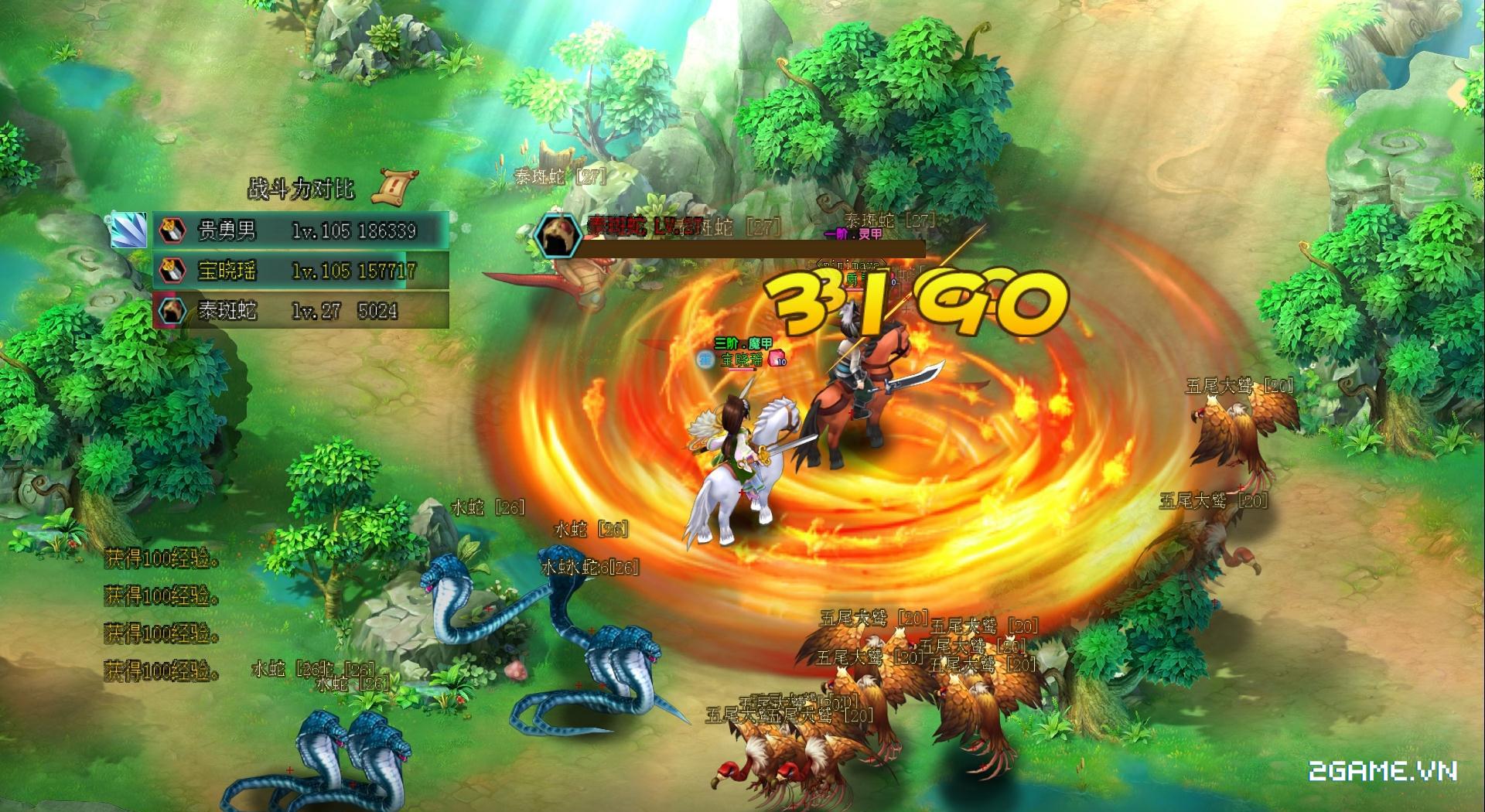 Game ăn theo phim truyện Vân Trung Ca về Việt Nam 1