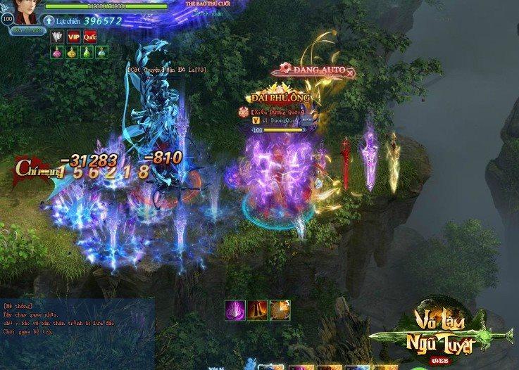 Võ Lâm Ngũ Tuyệt khoe mẽ đồ họa và gameplay siêu xịn trên nền web 2