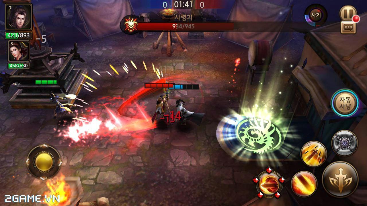 Heroes Migeom - Game Hàn chất lượng cao cập bến Việt Nam 1
