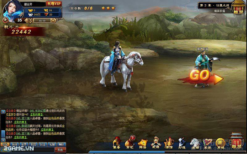 Hồi Đáo Tam Quốc - Webgame chuyển thể từ phim đến Việt Nam 1