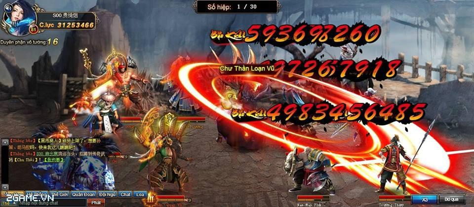 Hồi Đáo Tam Quốc - Webgame chuyển thể từ phim đến Việt Nam 0