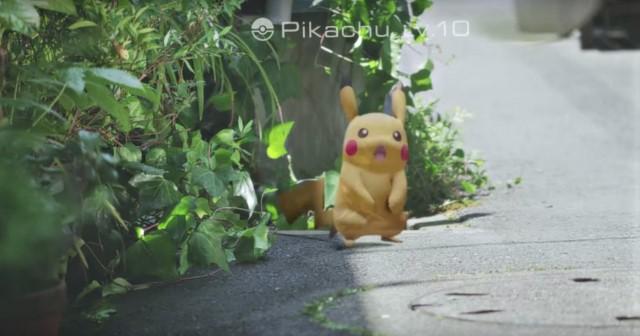 Pokémon GO: Pokémon sống rất nhiều xung quanh chúng ta