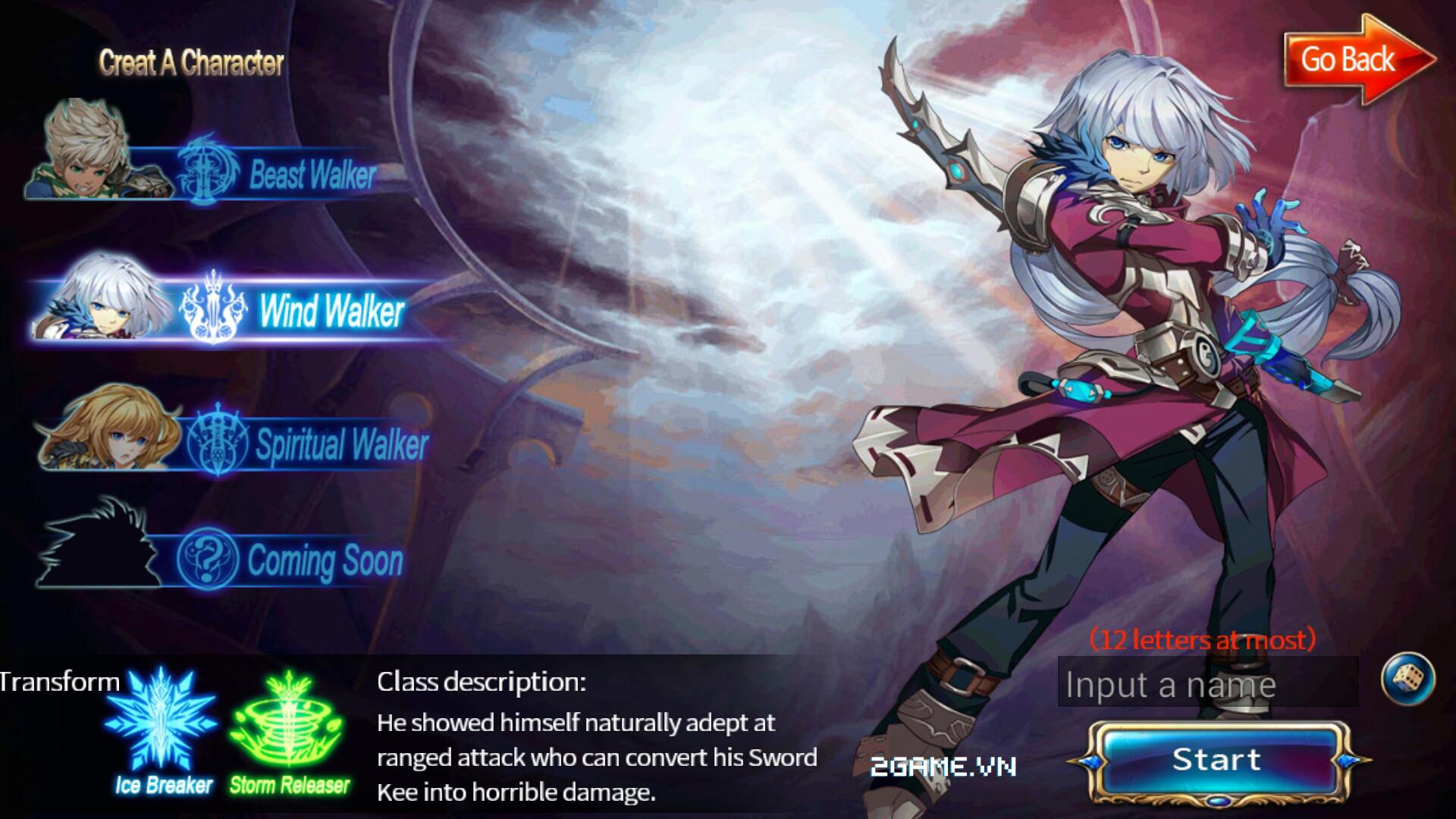 Thần Thoại mobile là tên Việt hóa của game Sword Of Soul 0