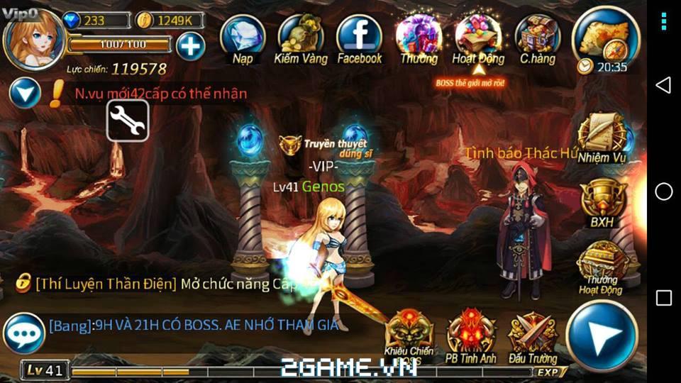 Chơi thử Thần Thoại mobile: Bản Việt hóa của Sword Of Soul 6