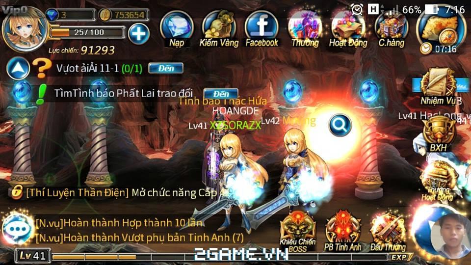 Chơi thử Thần Thoại mobile: Bản Việt hóa của Sword Of Soul 2