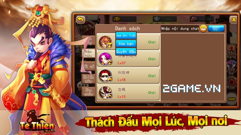 Tề Thiên mobile mở cửa đón game thủ Việt vào chơi 4