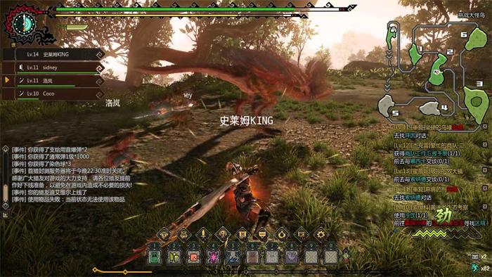 Monster Hunter Online chứa kho tính năng cực kỳ đồ sộ