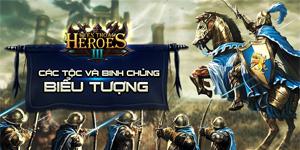 Huyền Thoại Heroes III: Infographic giới thiệu hình tượng của 3 phe