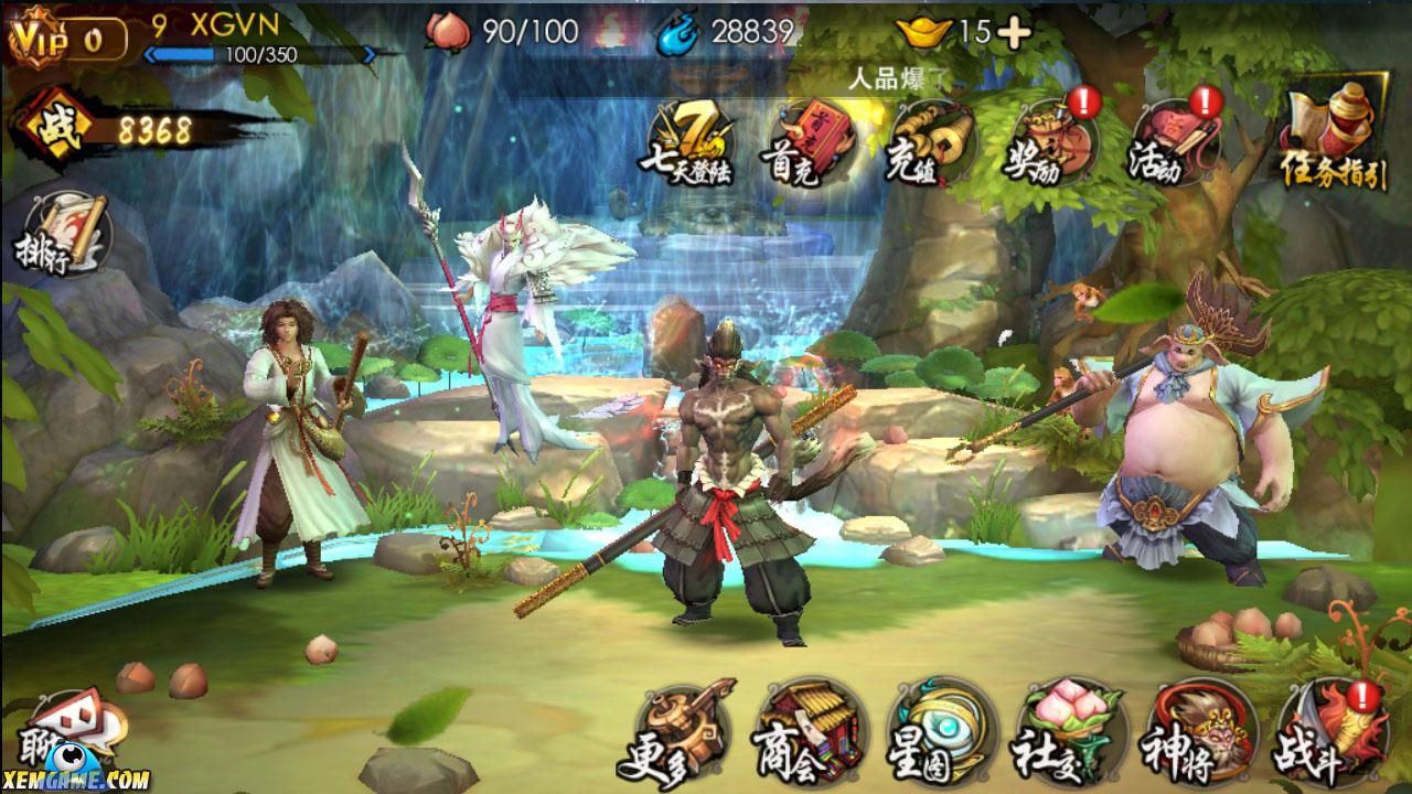 Fan Châu Tinh Trì sẽ thích game Quỷ Hầu Vương mobile