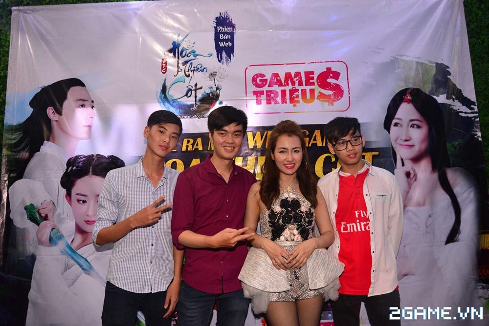 Trang Moon, Minh Hằng quậy tưng bừng trong sự kiện ra mắt game Hoa Thiên Cốt Web 11
