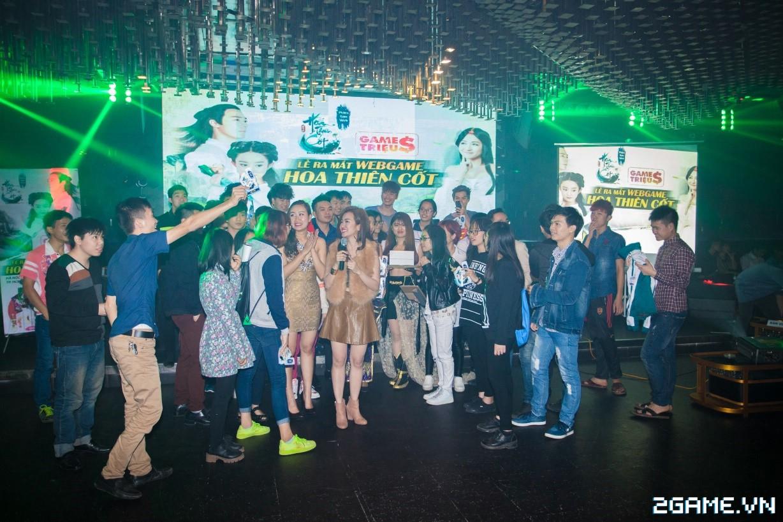 Trang Moon, Minh Hằng quậy tưng bừng trong sự kiện ra mắt game Hoa Thiên Cốt Web 0