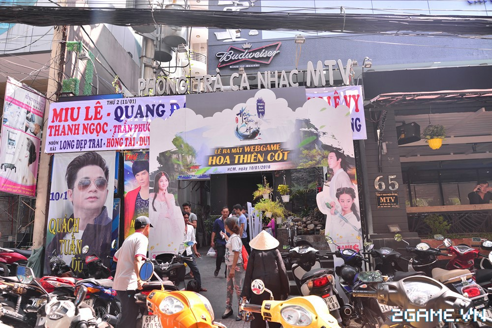 Trang Moon, Minh Hằng quậy tưng bừng trong sự kiện ra mắt game Hoa Thiên Cốt Web 2