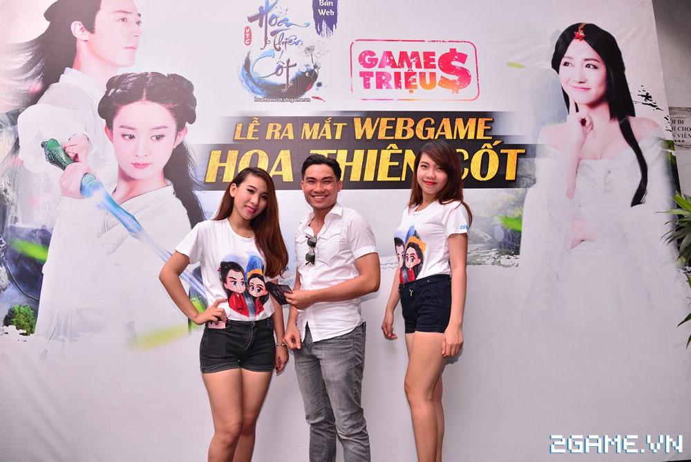 Trang Moon, Minh Hằng quậy tưng bừng trong sự kiện ra mắt game Hoa Thiên Cốt Web 12