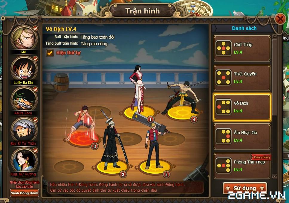 Game Đại Hải Trình tự tin tái hiện 100% nguyên tác One Piece? 2