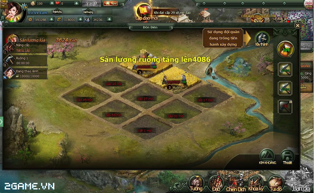 Thỏa sức phô diễn chiến thuật trong game Vi Vương ngày trình làng 1