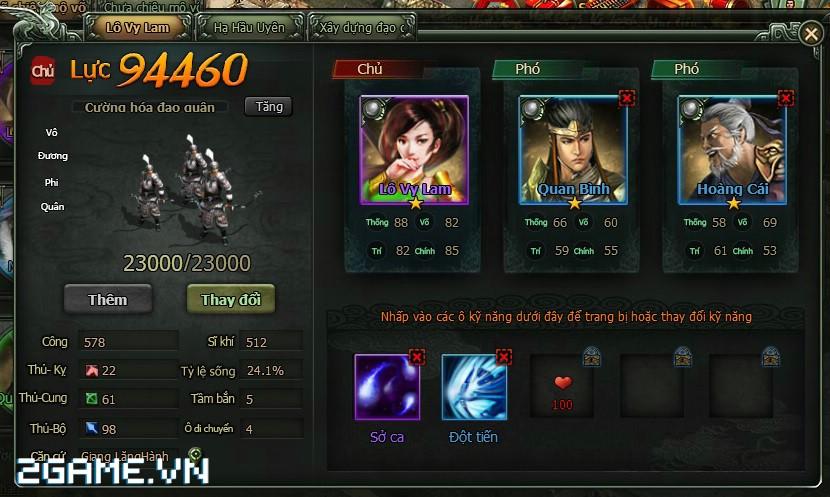Thỏa sức phô diễn chiến thuật trong game Vi Vương ngày trình làng 2