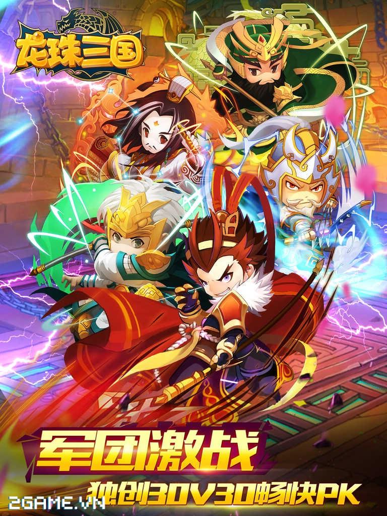 Game Ngọc Rồng Tam Quốc cập bến Việt Nam 2