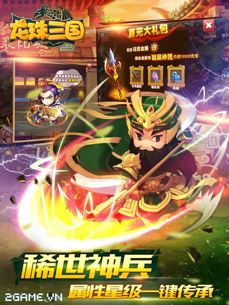 Game Ngọc Rồng Tam Quốc cập bến Việt Nam 4