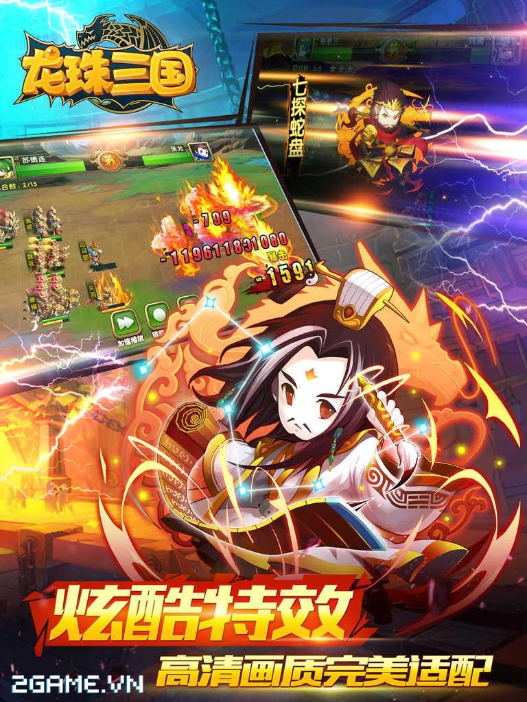 Game Ngọc Rồng Tam Quốc cập bến Việt Nam 5
