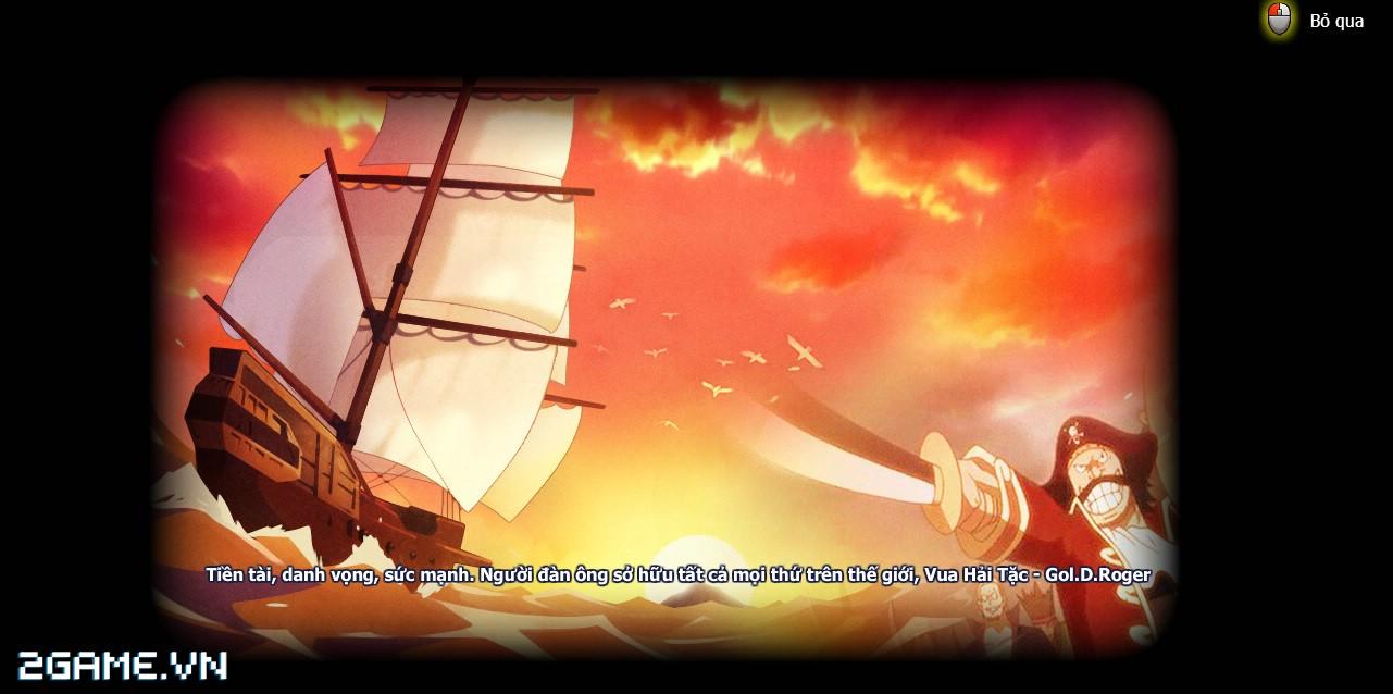 Xem lại anime OnePiece qua lối chơi của game Đại Hải Trình 0