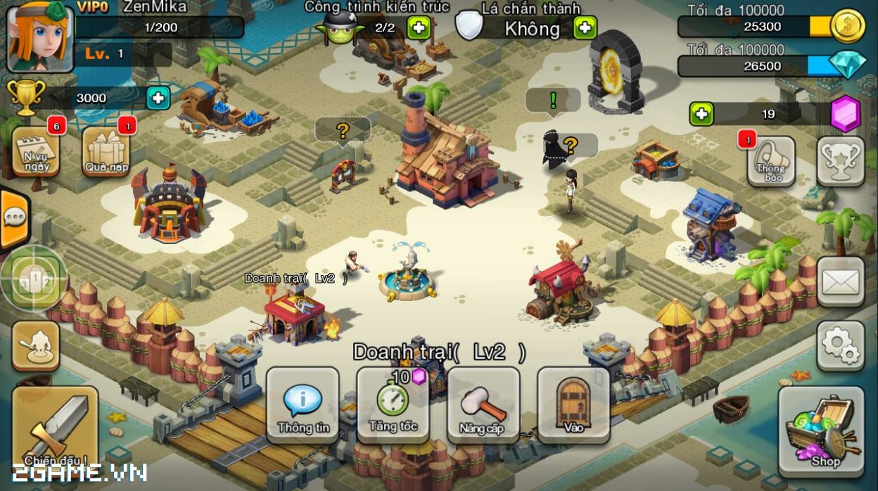 Đế Chế Hồi Sinh: Tựa game mobile chiến thuật phá cách 1