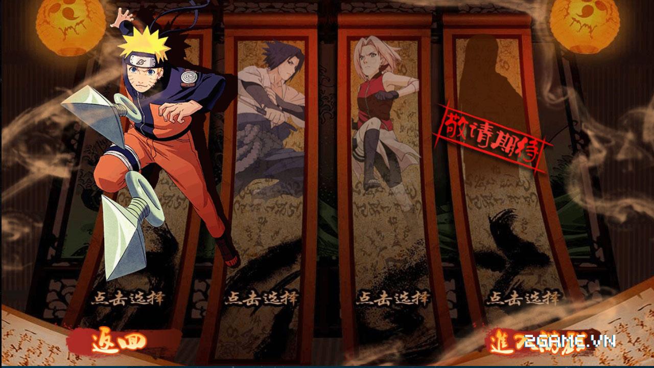 Lối chơi hành động hấp dẫn trong Huyền Thoại Naruto 0