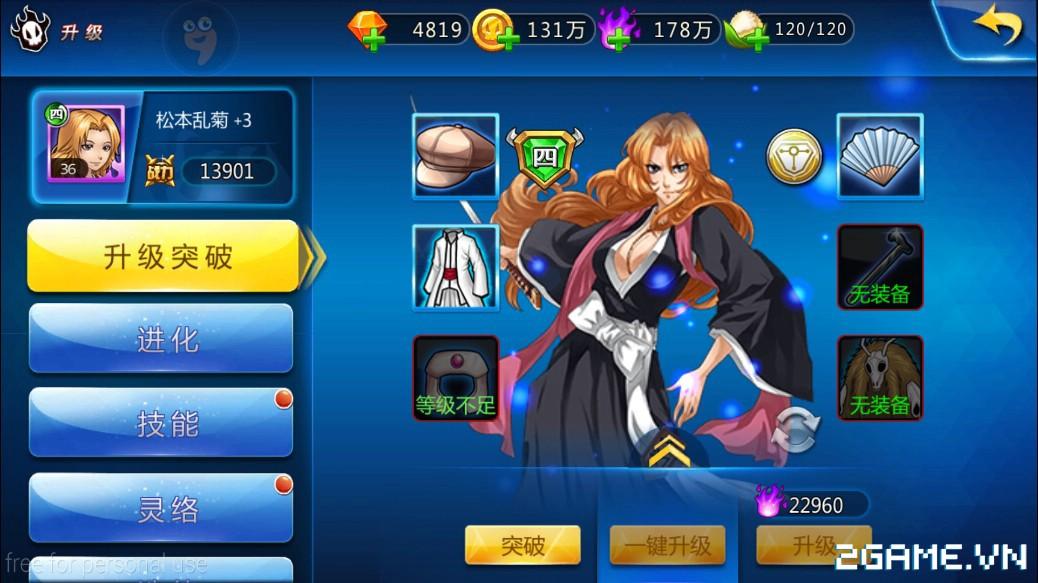 Game Tử Thần 3D mobile mang đề tài Bleach cập bến Việt Nam 13