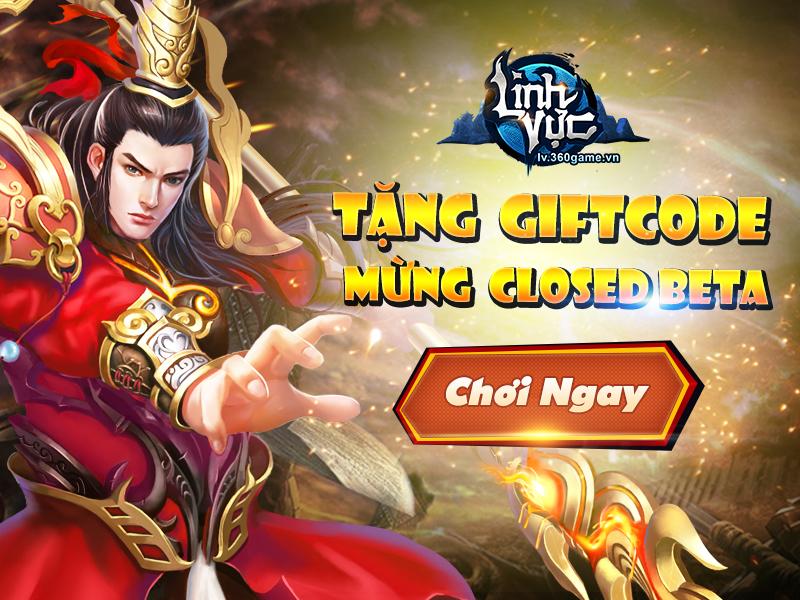 Tặng 220 giftcode game Linh Vực 0