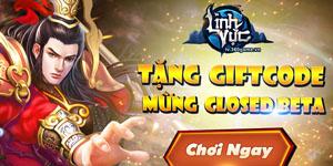 Tặng 220 giftcode game Linh Vực